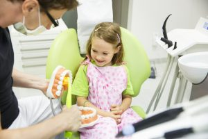 What Is Pediatric Dentistry child at dentist