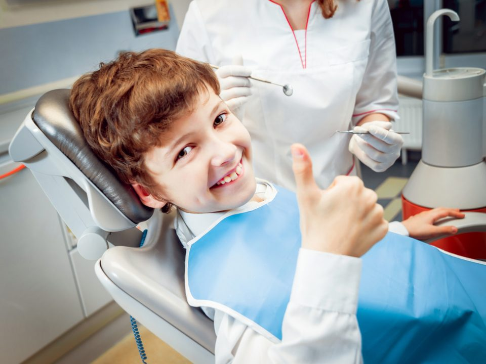 What Is Pediatric Dentistry child in chair