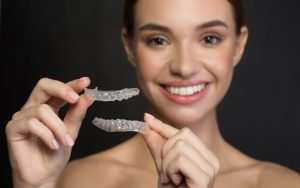 7 Things You Didn't Know Clear Aligners happy lady